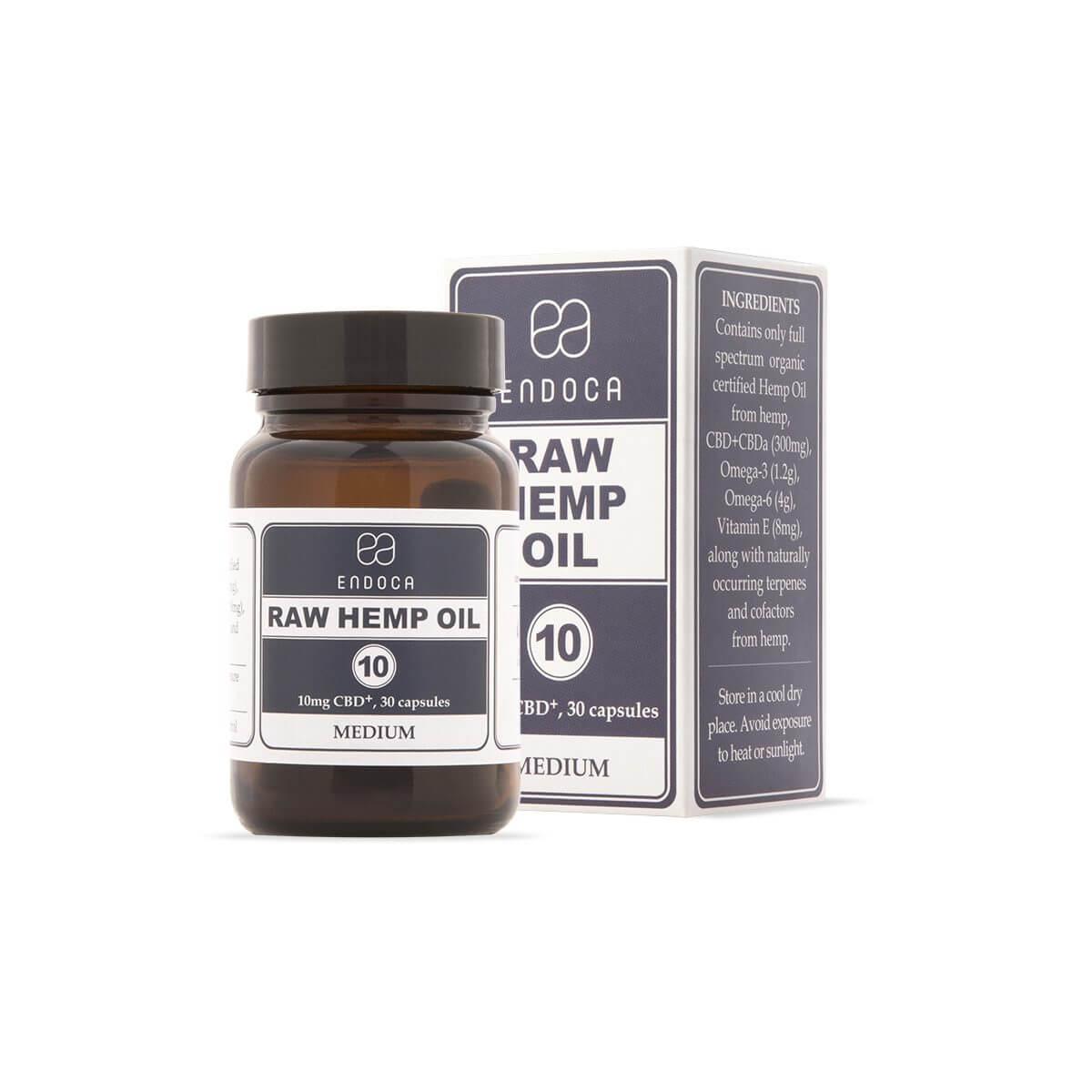 cbd capsules raw 10