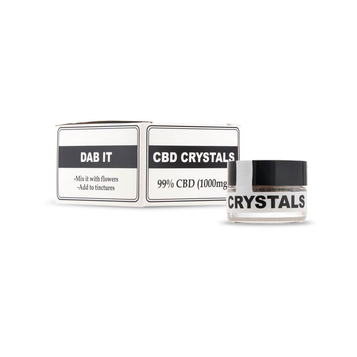 CBD Crystals - Front