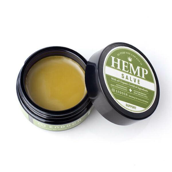 hemp salve opened