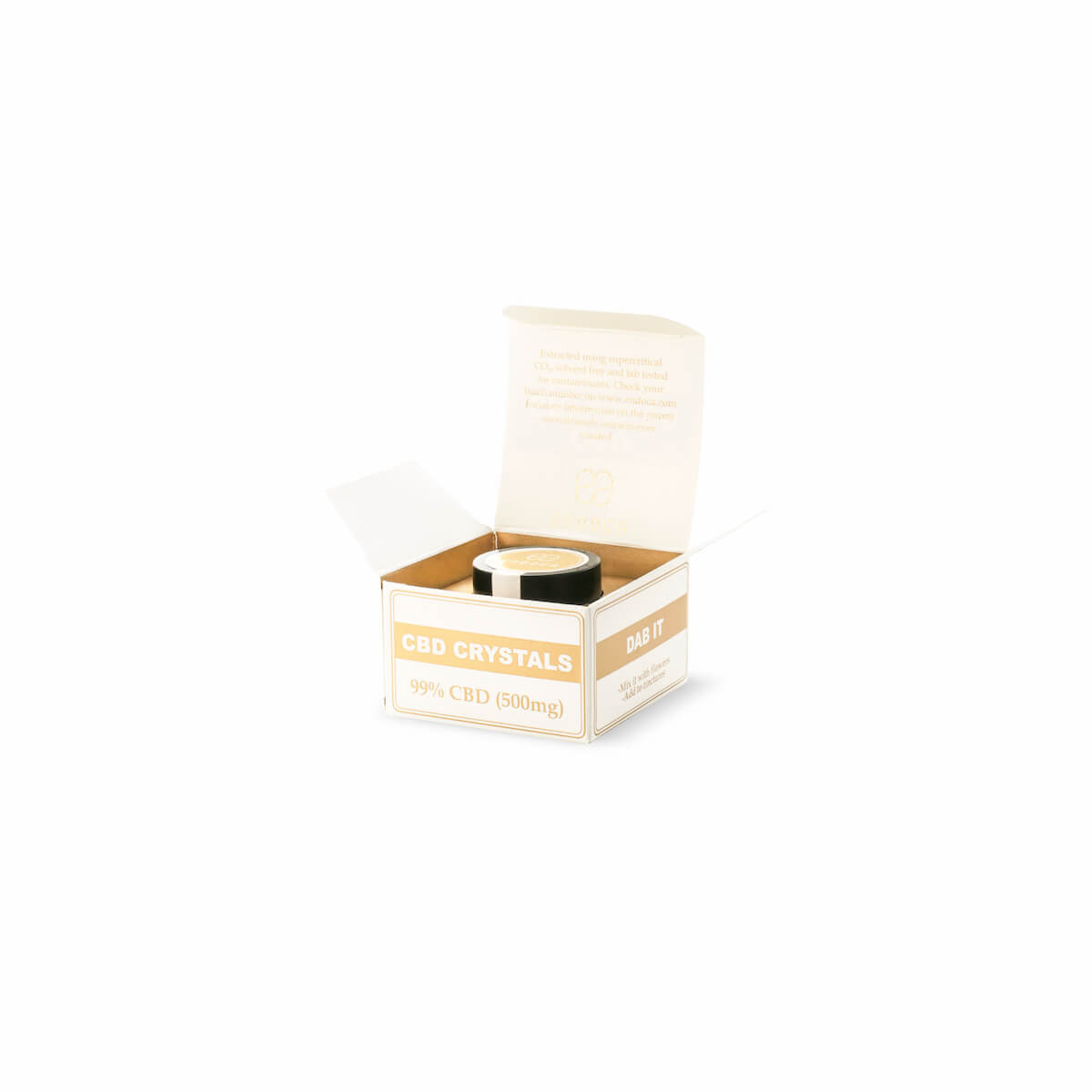 cbd crystals box