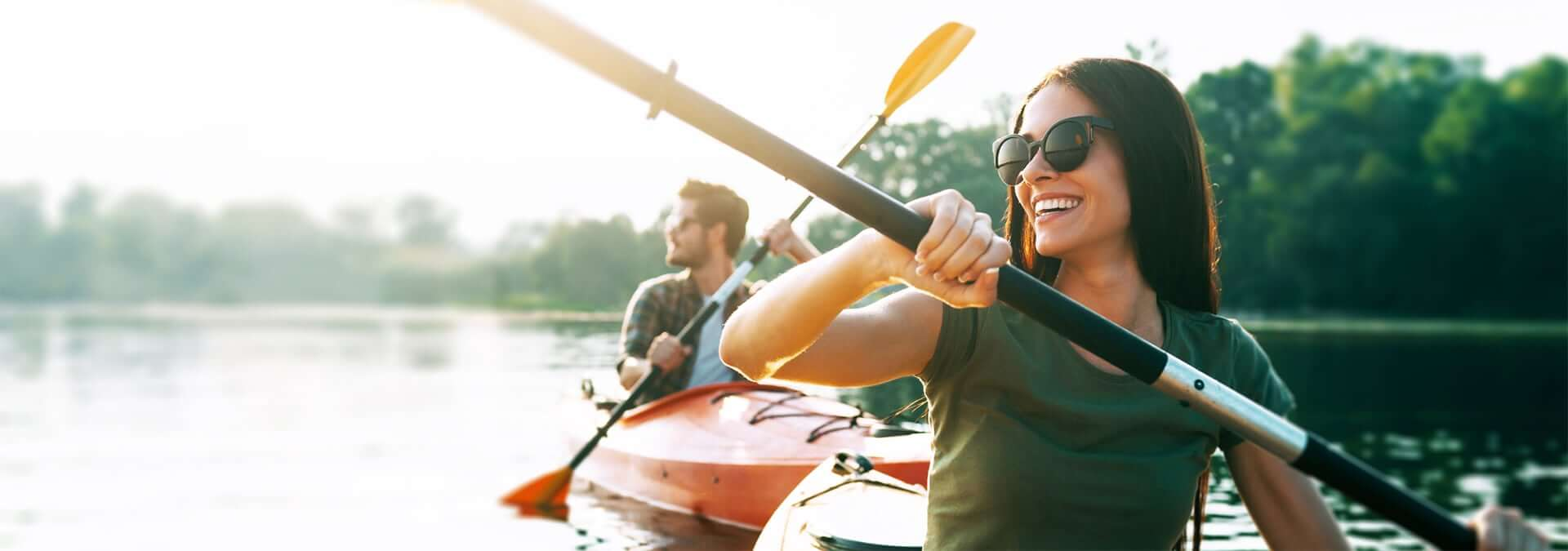 healthy lifestyle kayak