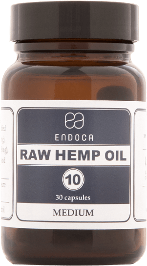 10MG RAW CBD CAPSULES (MEDIUM)
