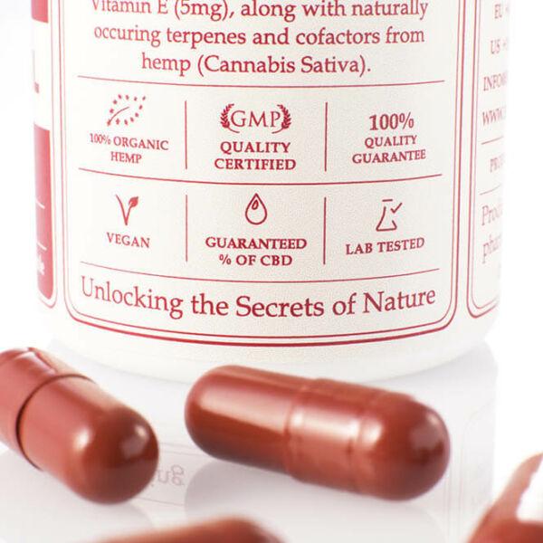 instructions cbd capsules