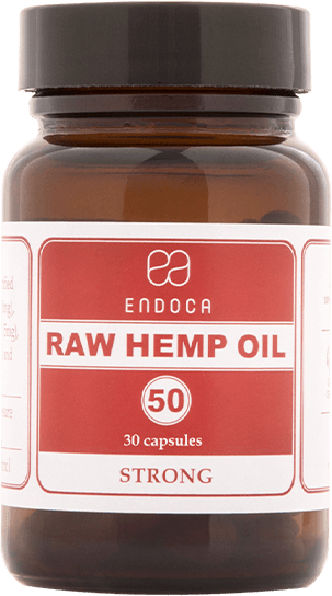 50MG RAW CBD CAPSULES (STRONG)