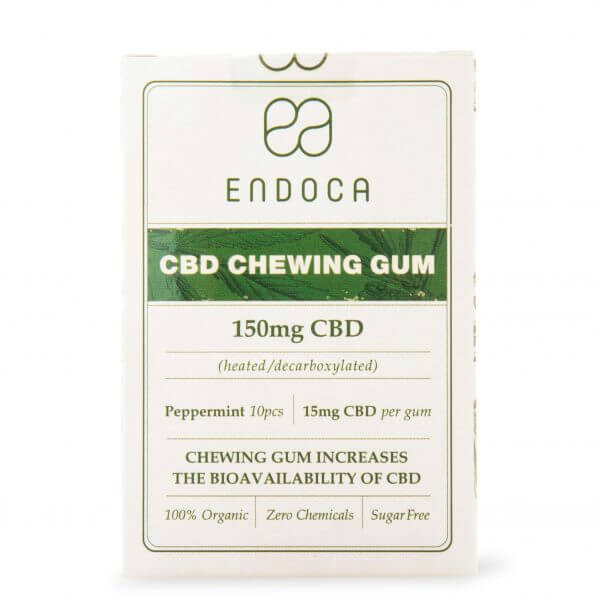 CHEWING GUM Hemp Oil 1500mg FrontView