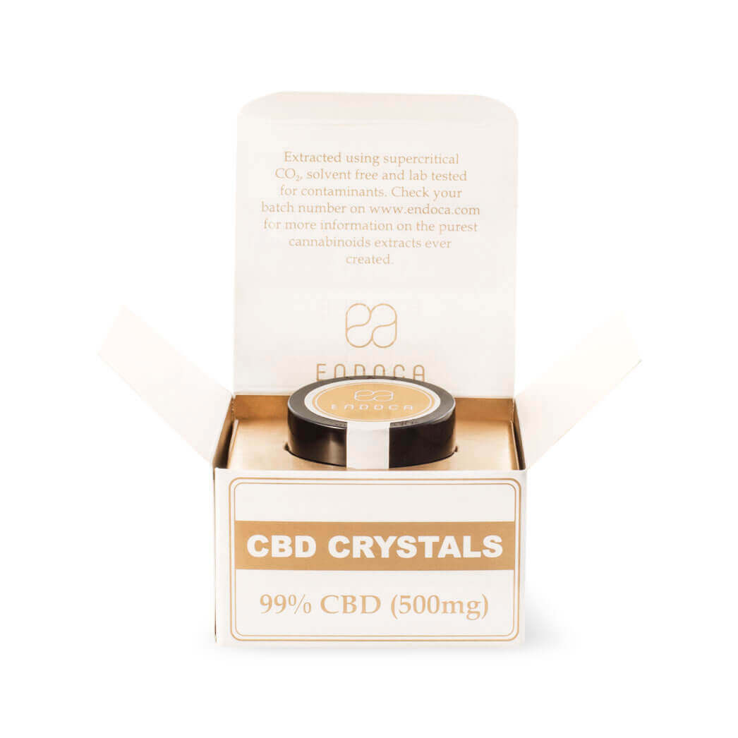 Cannabis-Crystals-99%-CBD-Front-Open-Package