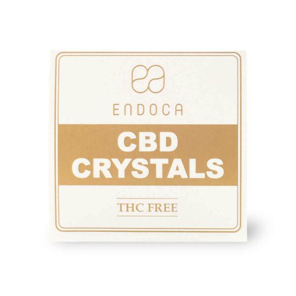 Cannabis Crystals 99% CBD TopView