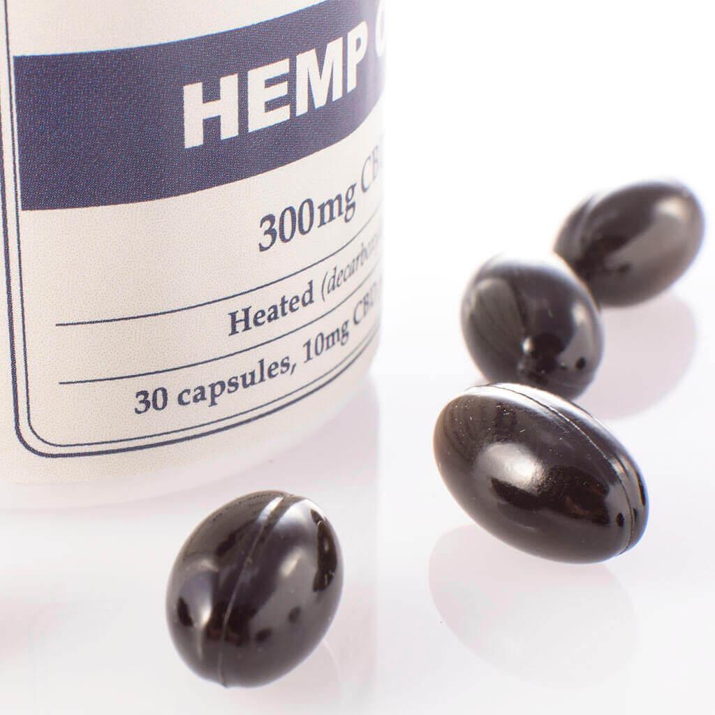 Capsules Hemp Oil 300mg Open PillsView