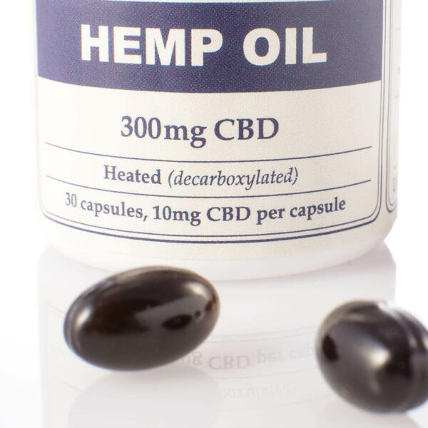 Capsules Hemp Oil 300mg Open PillsView2