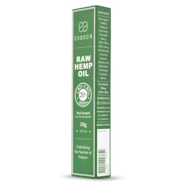 cbd oil Extract-2000-MG-RAW-Boxed-PerspectiveView