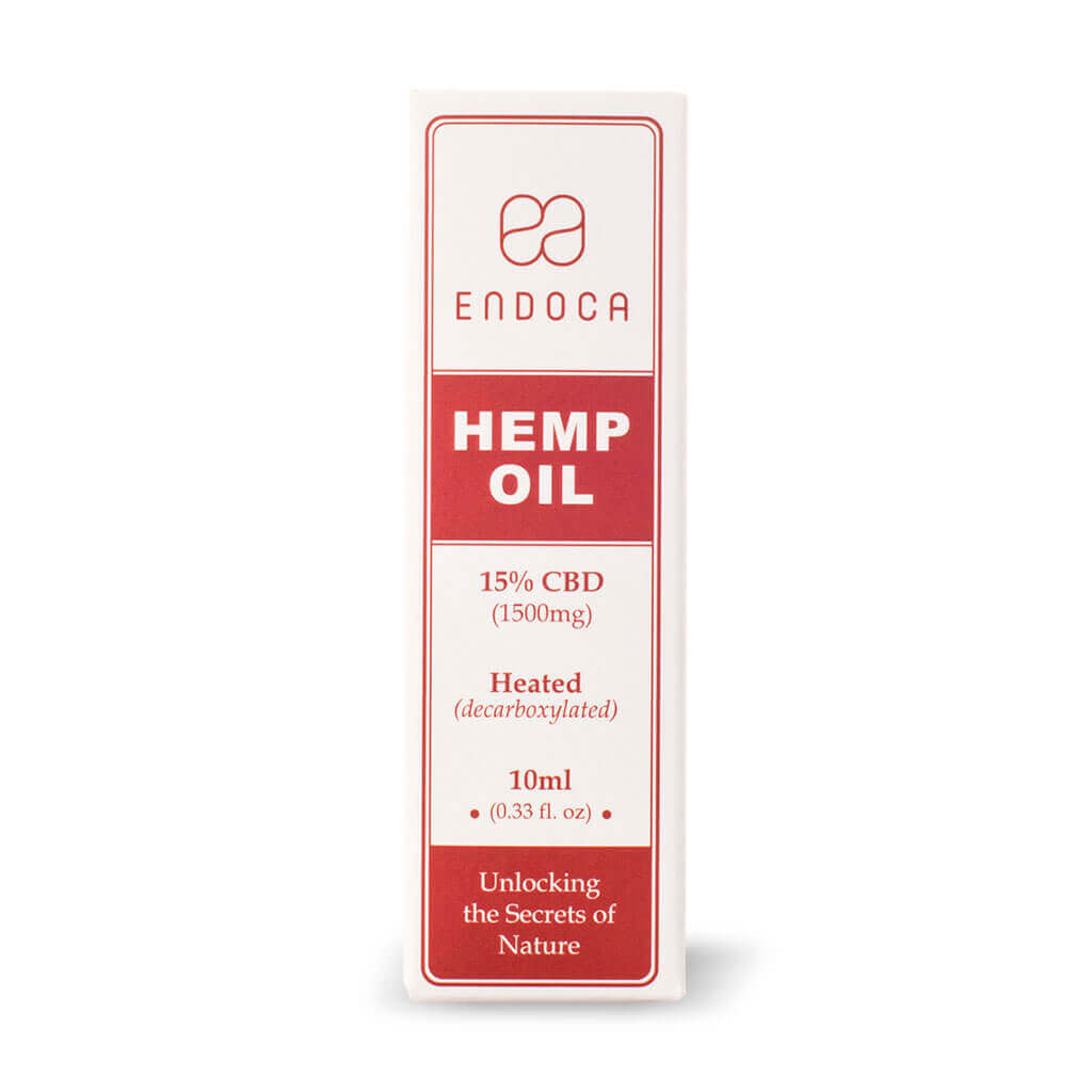 Hemp Oil Drops 1500mg Boxed FrontView