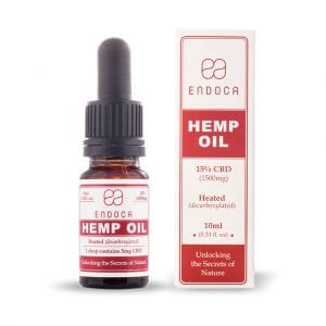 Hemp Oil Drops 1500mg Open FrontView
