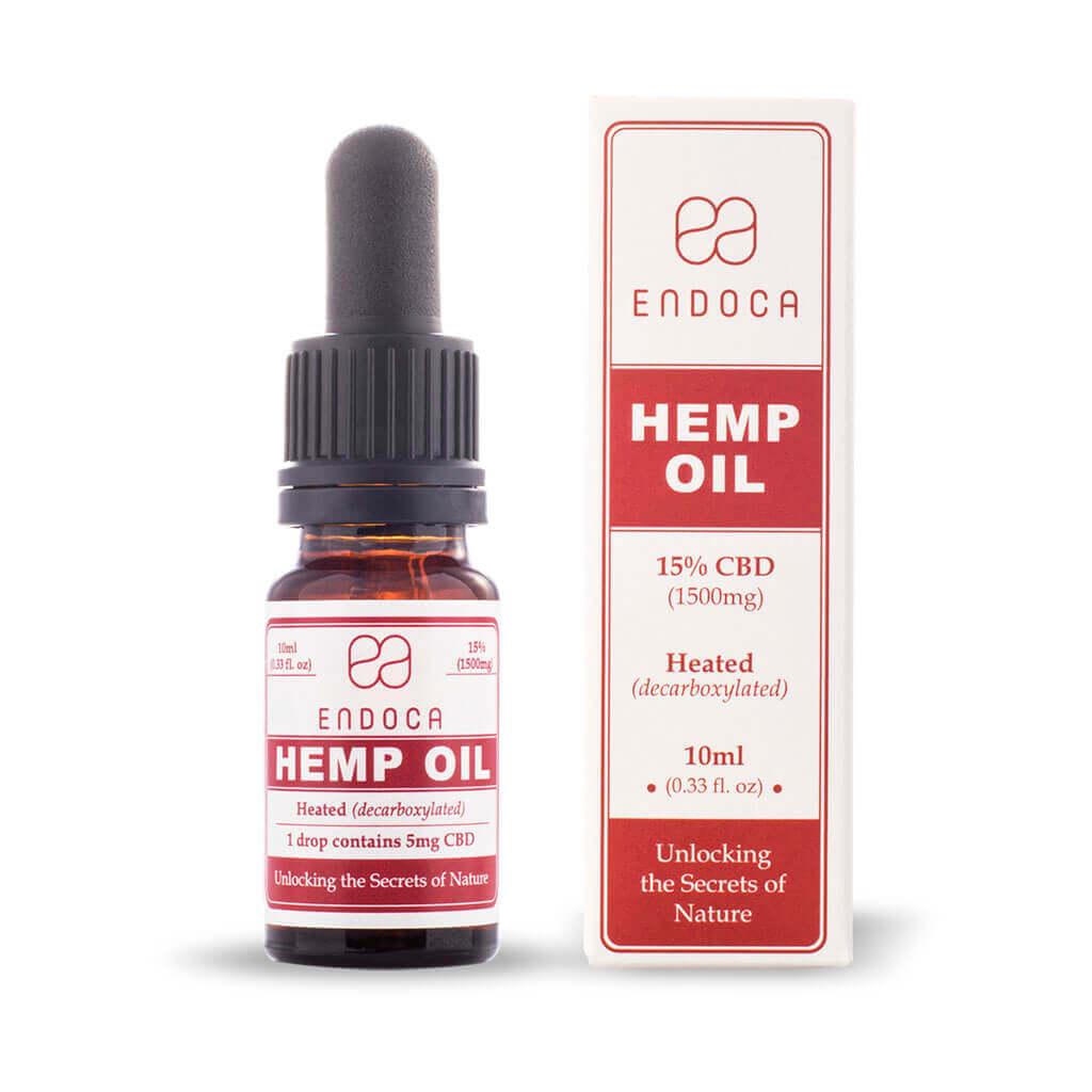 Hemp Oil Drops 1500mg CBD (Cannabidiol) (15%)