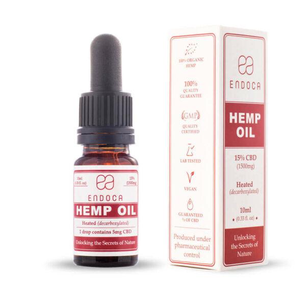 Hemp Oil Drops 1500mg Open PerspectiveView