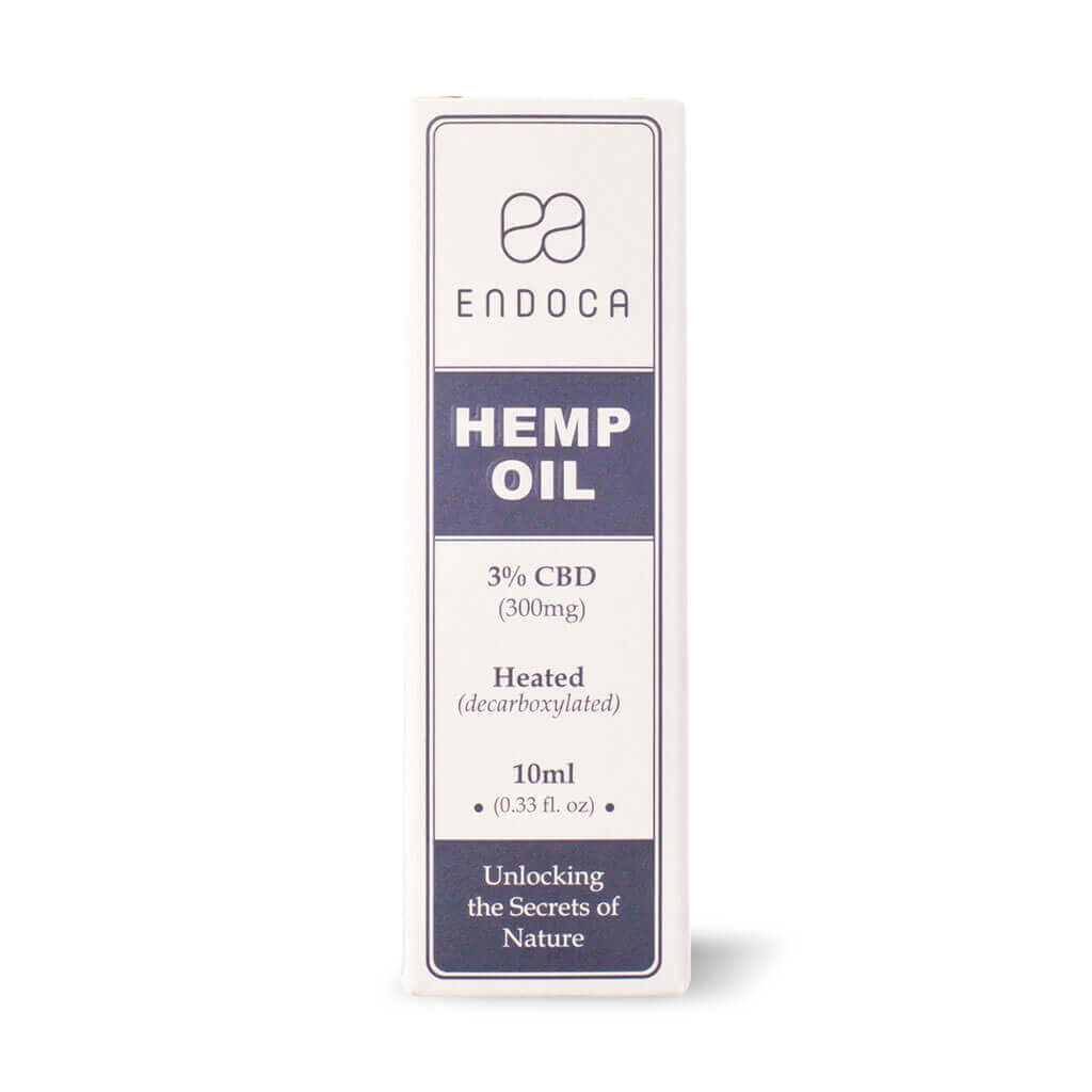 Hemp Oil Drops 300mg Boxed FrontView