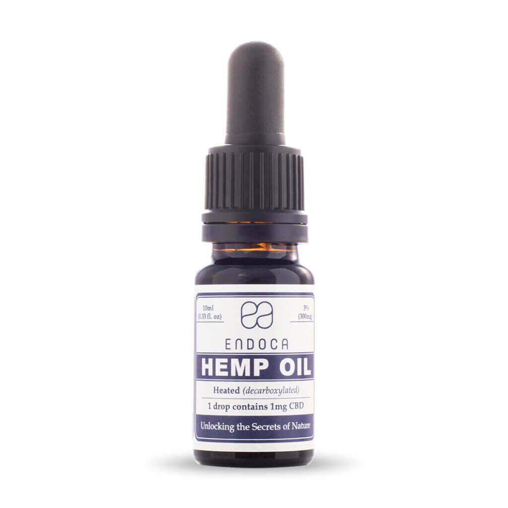Hemp Oil Drops 300mg FrontView