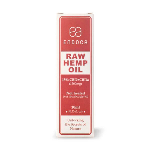 Hemp Oil RAW Drops 1500mg box