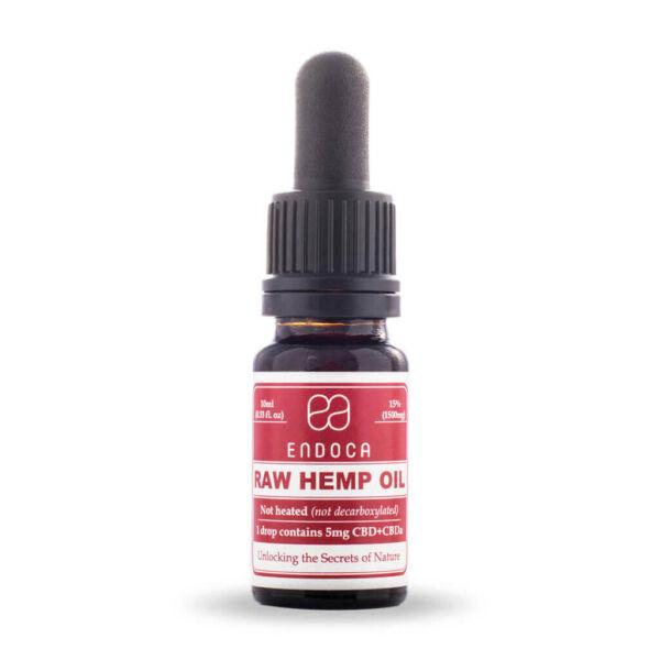 Hemp Oil RAW-Drops-1500mg-FrontView