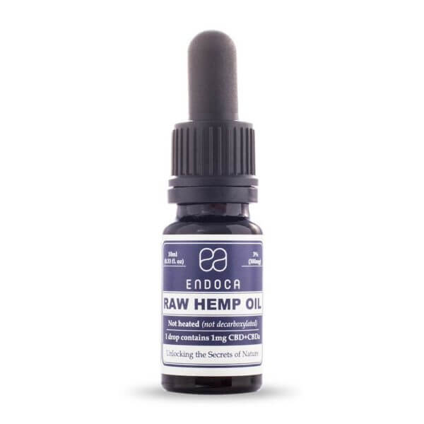 Hemp-Oil-RAW-Drops-300mg-FrontView