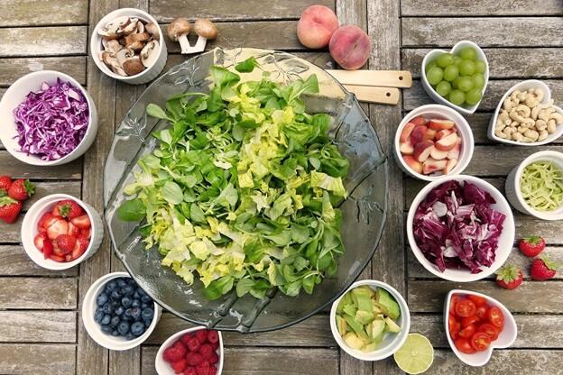 stress-busting salad