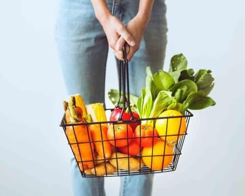 Gut health shopping basket