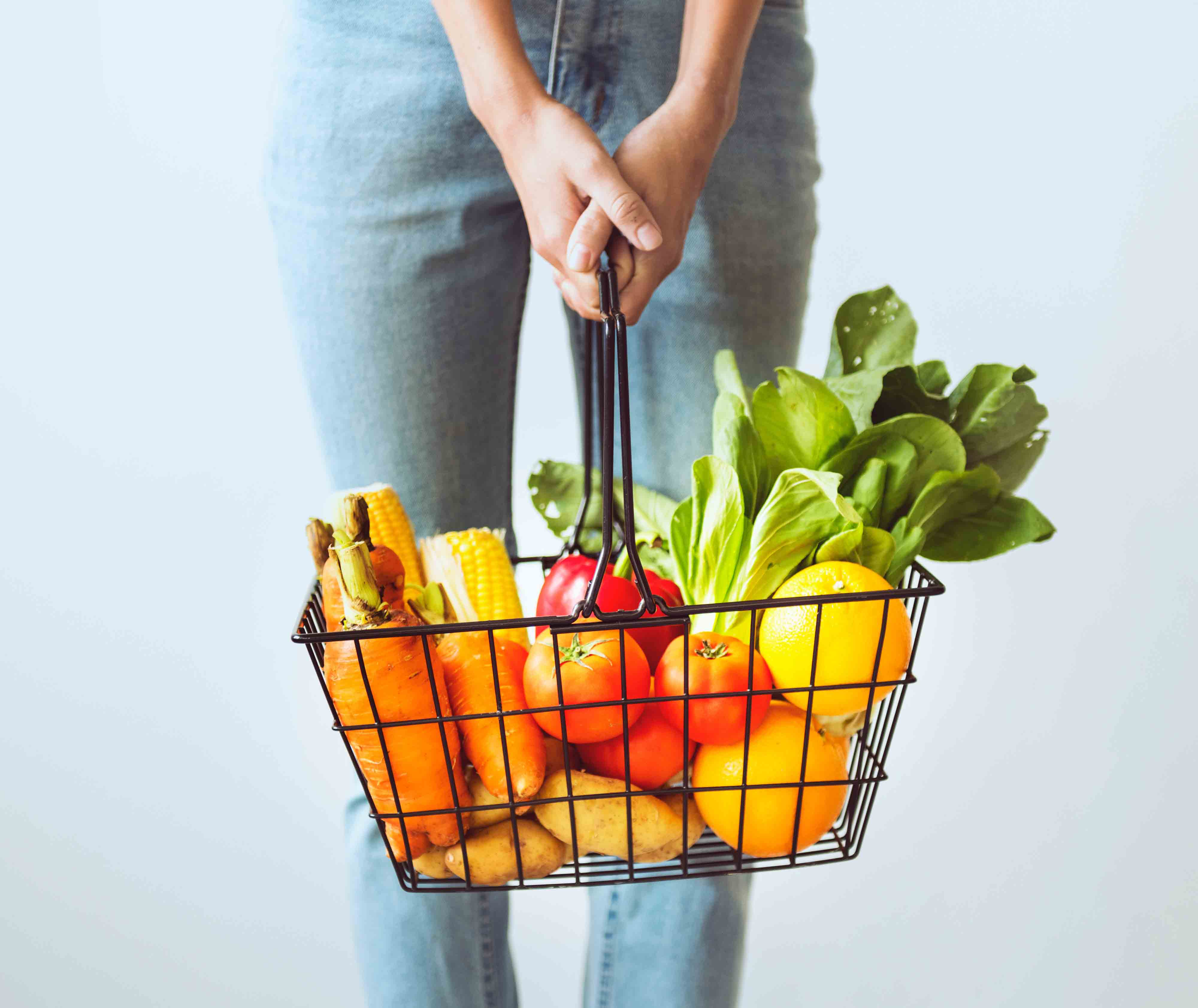 Gut health shopping basket