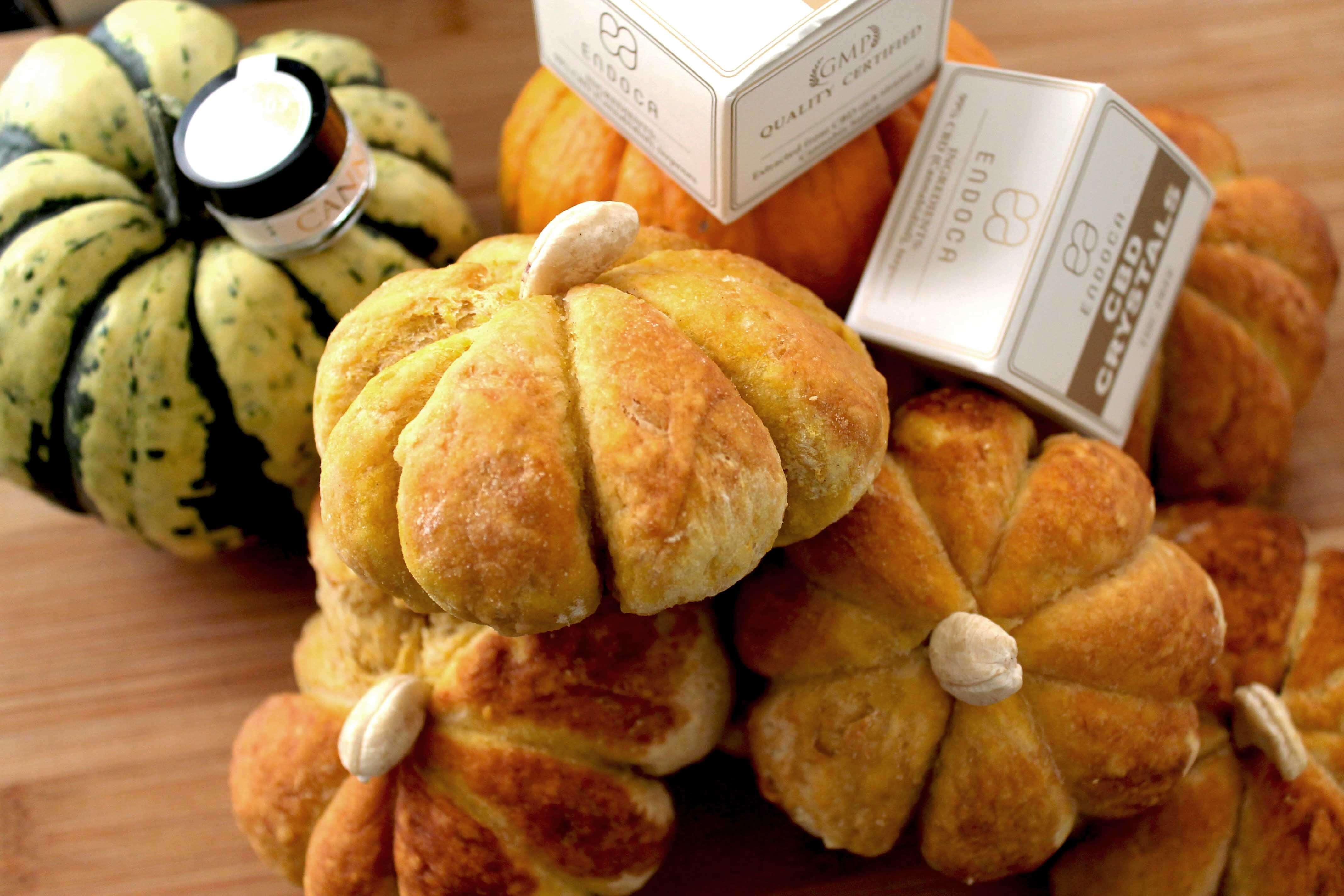 CBD pumpkin bread