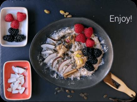 Koktajl owocowy z naszym białkiem