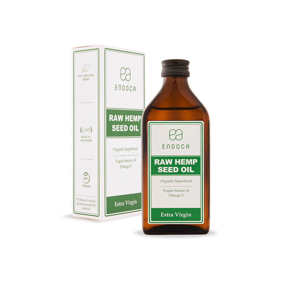 raw hemp seed oil