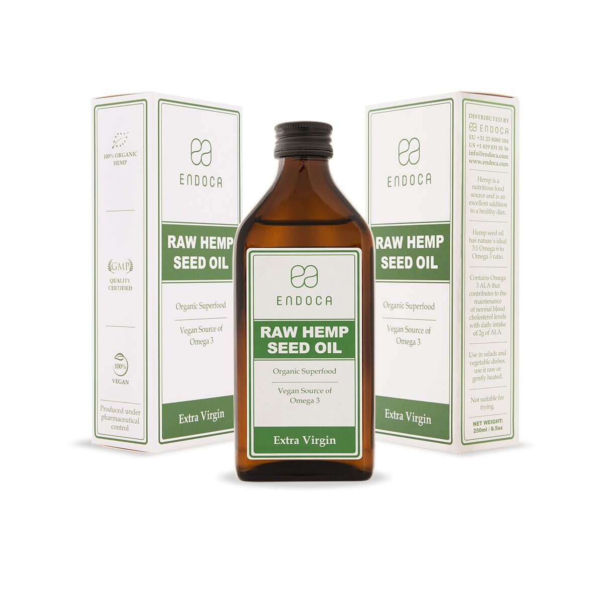 Hemp seed oil extra virgin