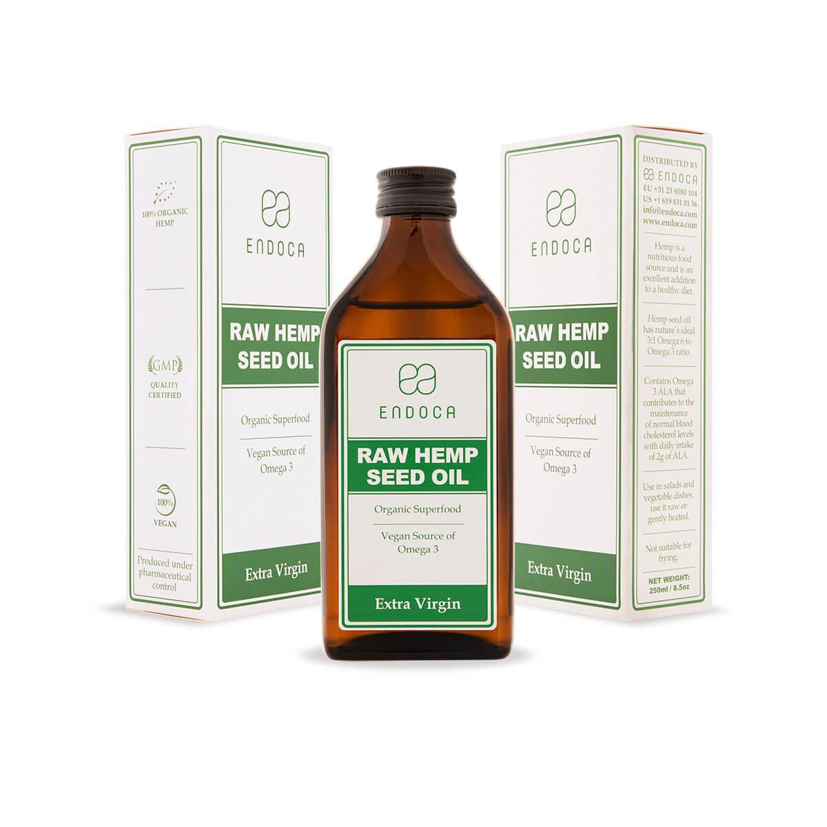 Hemp seed oil extra virgin