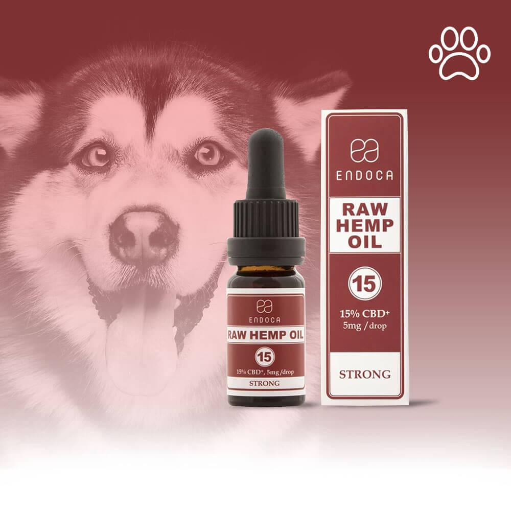 RAW CBD OIL FOR DOGS 150MG/ML CBD+CBDa