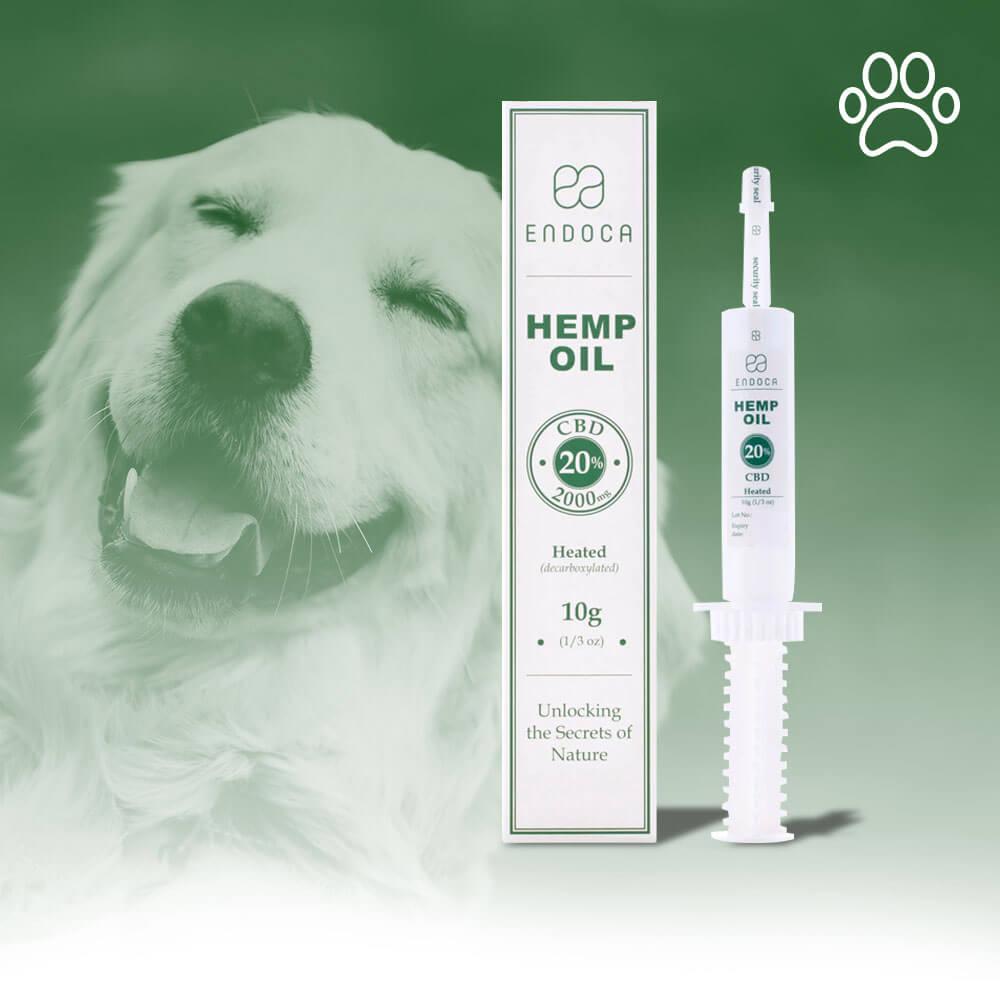 HEMP OIL EXTRACT FOR DOGS 200MG/G CBD