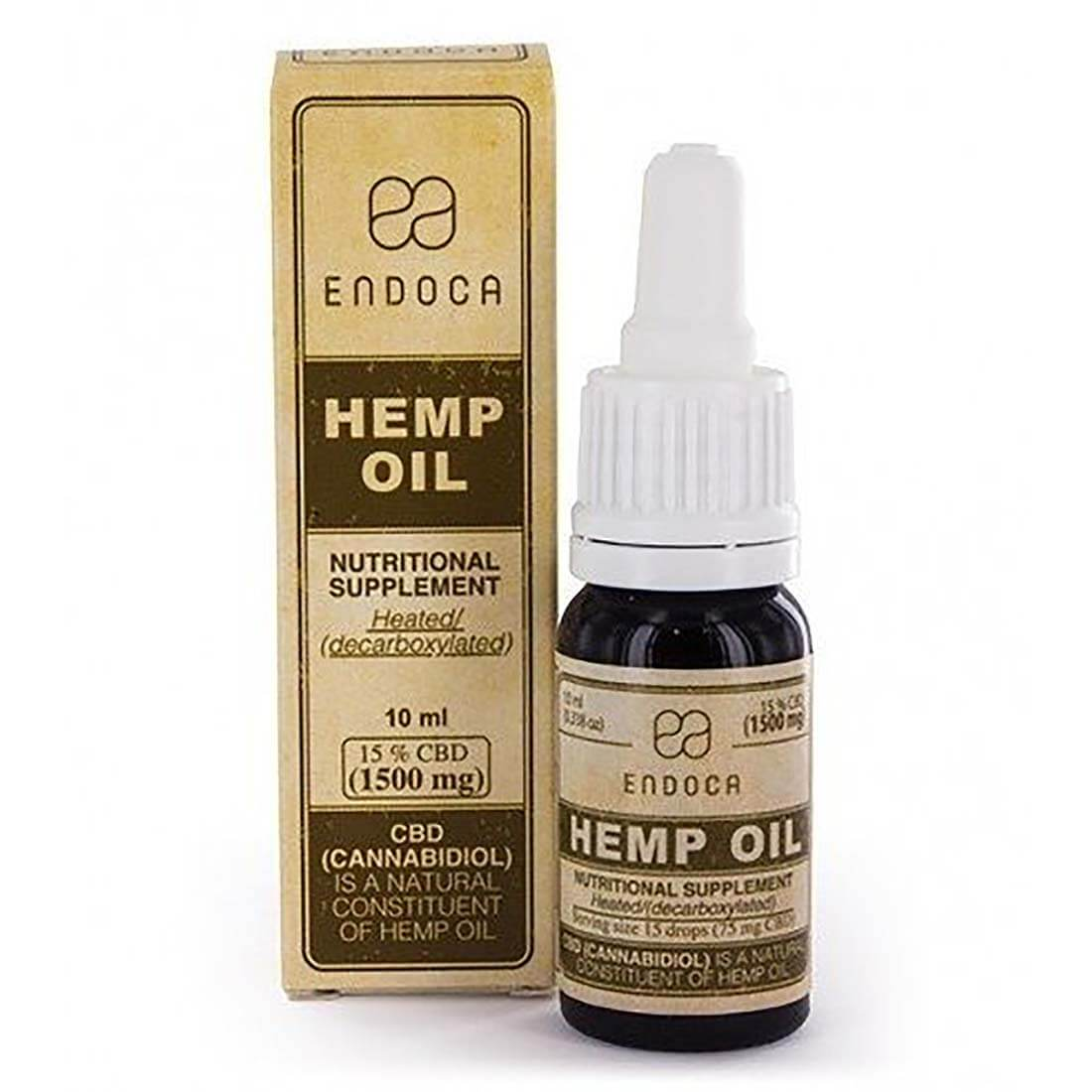 Old Endoca CBD oil