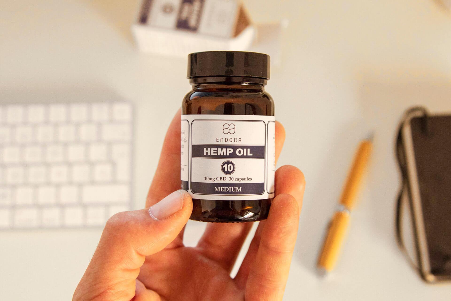 Endoca hemp oil capsules