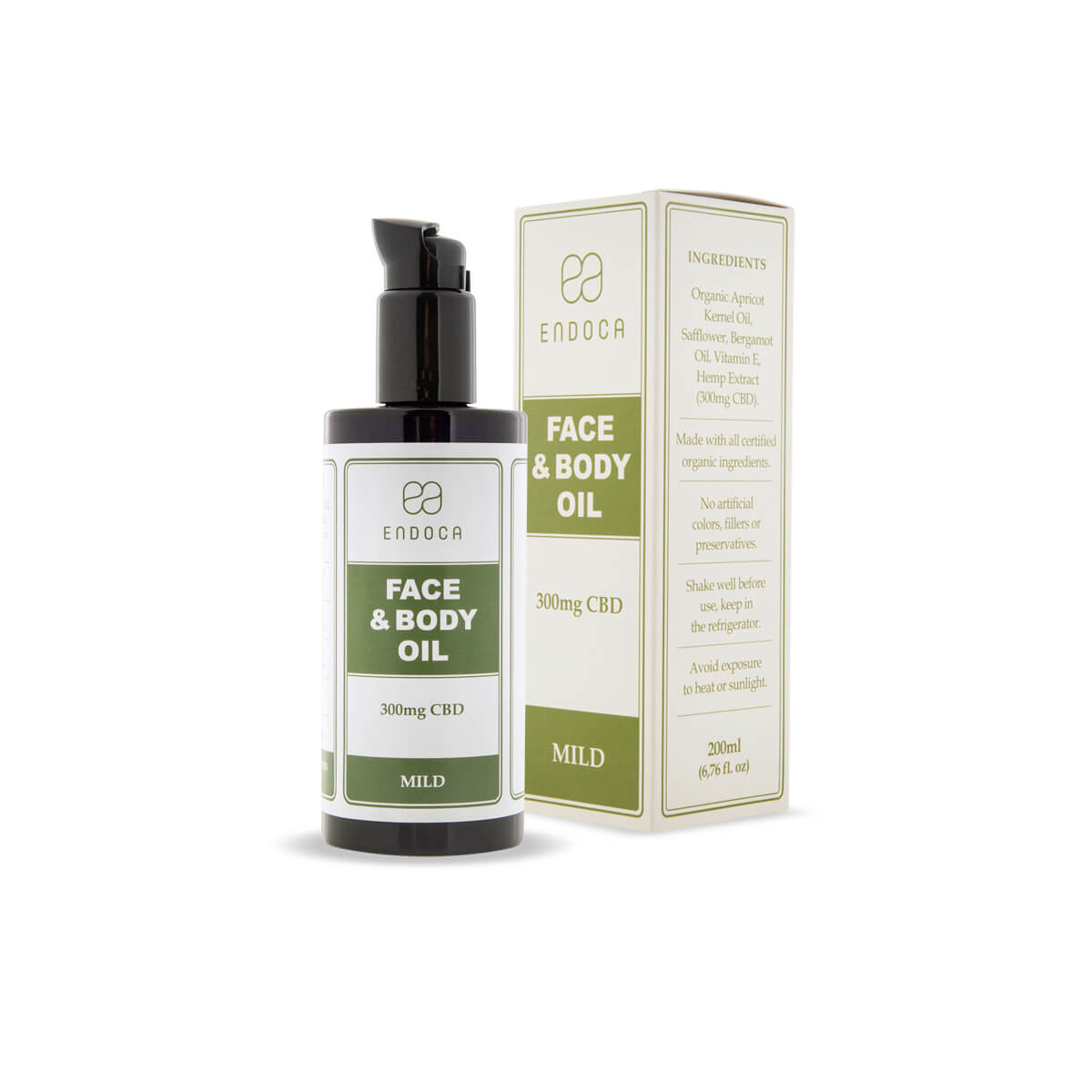 CBD face and body oil