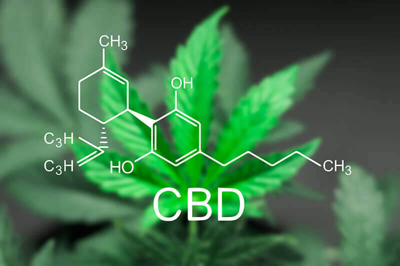 Where does CBD come from-The chemical structure of CBD
