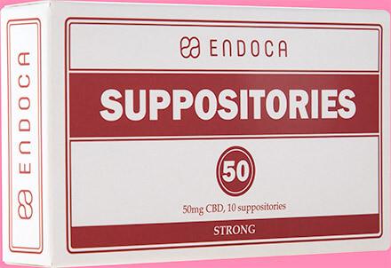 CBD SUPPOSITORIES 500MG CBD